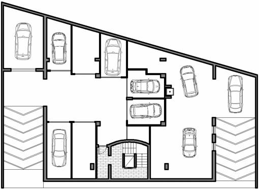 Il piano interrato della residenza ecosole for Due box auto con costo dell appartamento